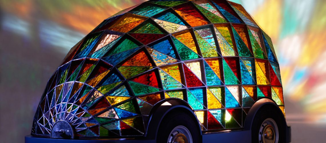 Stained Glass Car © Sylvain-Deleu